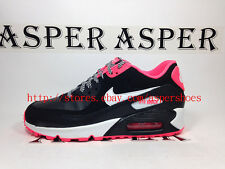 Nike Air Max 90 2007 GS Black White Pink Girls Youth Running Shoes 345017-064