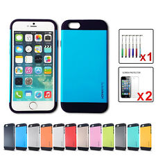 ShockProof Slim Armor tough Case Cover for iPhone 5 5S 6 6 Plus/Samsung Galaxy