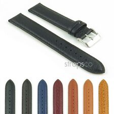 StrapsCo Extra Long Genuine Leather Mens Watch Band Strap - Many Colors & Sizes!
