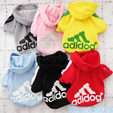Pet Puppy Dog Cat Autumn Coat Clothes Hoodie Sweater Costumes Size S M L XL XXL
