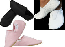 LEATHER GYMNASTIC SHOE SLIPPERS TRAMPOLINING TRAINING DANCE CUSHIONED