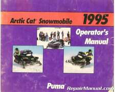 Used 1995 Arctic Cat Puma Snowmobile Owners Manual