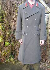 Austrian Army Trench Coat Grey Great Metal Buttons Warm Liner Military Surplus
