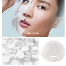 Compressed Soft Facial Face Mask Sheet Paper Diy Natural Skin Care 50 100 Pcs A