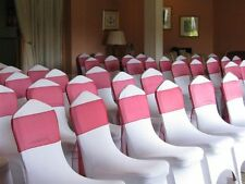 ✿ White Wedding Lycra Chair Covers FOR SALE NOT HIRE 30✘50✘100 London Stock✿