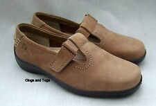 NEW HOTTER SUNSHINE TAN NUBUCK LEATHER SHOES SIZE 4.5 / 37.5 WIDE FIT