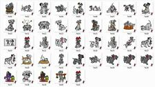 Cartoon Set 3 Embroidery Designs - Over 4,400 in 10 Formats on CD or USB Drive