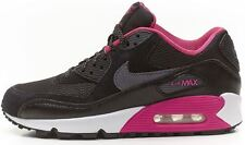 Nike Air Max 90 GS black&pink trainers 345017 017