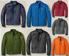 NWT Eddie Bauer Mens First Ascent MicroTherm StormDown Jacket 800 FP