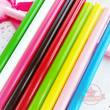 5 pcs Semi-Translucent Hot Glue Sticks Deco Sauce Chocolate Fake Icing Wax Seals