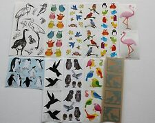 Mrs. Grossman sticker sheet You Choose - birds