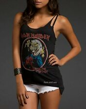 Iron Maiden Number of the Beast Girls Racer Tank Tee T-Shirt M L XL 2XL NWT