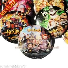 The Boxtrollens Tin Buttons pins badges,30MM,Round Brooch Badge,Decorate Gift