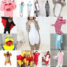 Hot Costume Animal Onesie Sleepwear Unisex Adult Pajamas Kigurumi Cosplay Dress