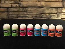 8 Chap Ice Mini Lip Balms; Kiwi Lime,Cherry,Orange,Medicated; You Choose Combo!