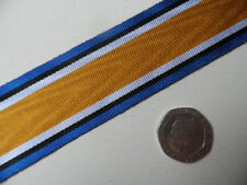 British War Medal, Replacement Medal Ribbon, Full Size [32mm]. Free Postage.