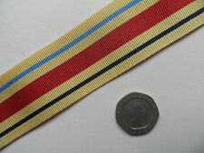 Africa Star, WWII,  Replacement Medal Ribbon, Full Size [32mm]. Free Postage.