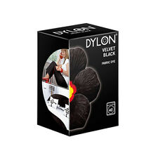 Dylon Machine Dye 12 Velvet Black With or Without salt  (Discount for Qty)