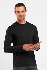 New Men's Icebreaker Tech T Lite L/S Long Sleeve merino wool Tshirt XL $85