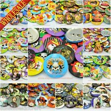 45Pcs Tin Button pin badges,45mm,Clothes Decoration kids Collection Party Gifts