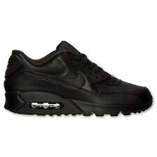 NIKE 302519 001 Air Max 90 Leather Black *Brand New* MSRP: $120