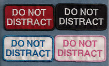 DO NOT DISTRACT - service dog, therapy dog vest patch