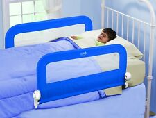 NEW! Summer Infant Grow With Me DOUBLE Bed Rail Guard . PINK or BLUE.