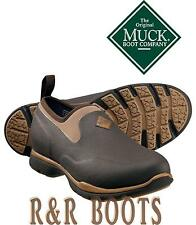 Muck Boots Men's Excursion Pro Low Waterproof Rubber Hunting Boot ~ Bark/Otter