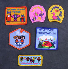 Girl Guide/ Scout / Brownie Friendship/ Fun/ Activity Patches/ Badges - Choice C