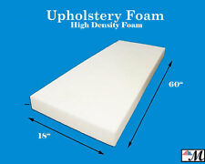 "Seat Foam Cushion Replacement Upholstery Per Sheet - All Sizes! 18""x60"""