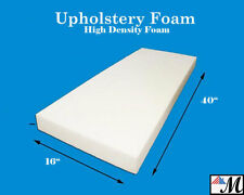 "Seat Foam Cushion Replacement Upholstery Per Sheet - All Sizes! 16""x40"""