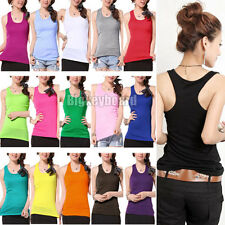 Hot sexy Women's Lady Casual Vest Tank Tops Sleeveless New