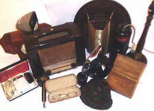 BAKELITE COLLECTABLES &  ART DECO   1930 - 1990 -- click on the site to chose
