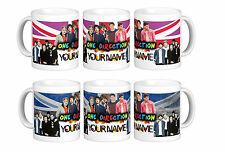 ONE DIRECTION 1D PERSONALISED MUG CUP GIFT Harry Zayn Styles XMAS NAME BIRTHDAY