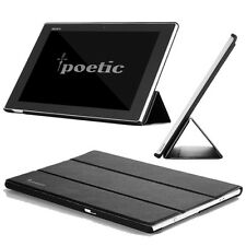 Poetic Slimline Ultra-Slim PU Leather Stand Case For Sony Xperia Z Tablet 10.1