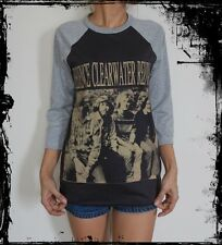 Unisex Creedence Clearwater Revival Raglan 3/4 Sleeve T-Shirt Jumper Sweater M L