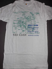 KID CUDI Apollo Blueprint T-Shirt **NEW music band concert tour