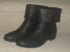 Womens Ankle Boots Size 8 M St. John's Bay Remi Brown with Cuff New