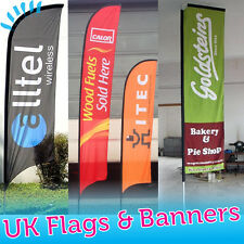 Feather Flag -Custom Printed - Sail Flying Banner - Outdoor Advertising Sign