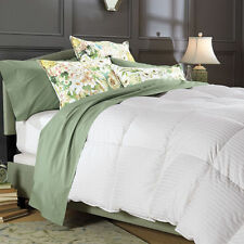 Deluxe All Seasons 1200 TC Natural Down Comforter 100% Egyptian Cotton Cover