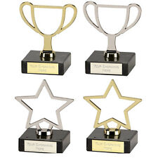 Engraved Budget Presentation Trophy Cups / Star Any Sport, School Award