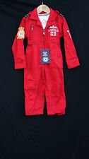 OFFICIAL LICENSED RED ARROWS CHILDS FLIGHT BOILER SUIT ROYAL AIR FORCE COSTUME
