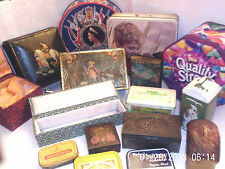 TINS   VINTAGE & OTHER CRAWFORD, TOBACCO  - click on the site to chose and order