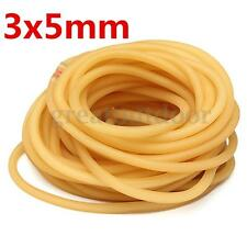 3x5mm Natural Latex Rubber Band Tube Slingshot Catapult Elastic Parts 1/3/5M