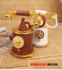Classical Retro Number Phone Music Box PlasticToy Personality Children's Toys