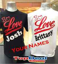 Valentines Day Couple T-shirt Custom Name For couples