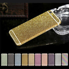 Deluxe Bling Crystal Diamond Glitter Screen Protector Film Case For iPhone 4 5 6