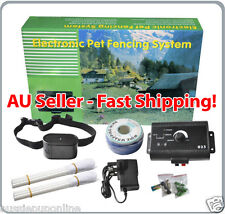 Pet Dog Safety Barrier Wireless Electric Fence Training System Fencing Boundary