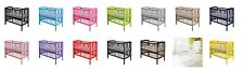 NEW! Kinder Valley Mini Kai Space Saver Compact Cot, ALL COLOURS.