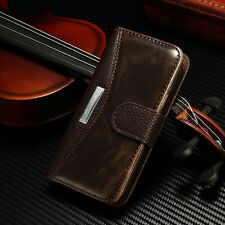 For Samsung Galaxy S4 Mini I9190 Leather Flip Case Magnetic Wallet Cover Stand
